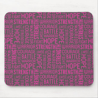 Breast Cancer Awareness Support Mouse Pad