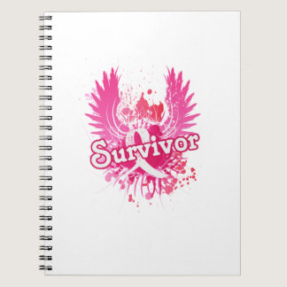 Breast Cancer Awareness Survivor Gifts Notebook