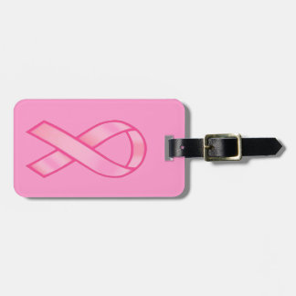 Breast Cancer Awareness Tags For Luggage