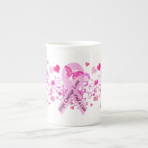 Breast Cancer Awareness Tea Cup