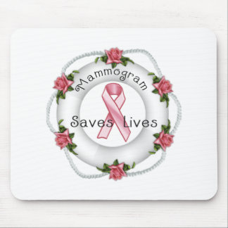 BREAST CANCER AWARENESS - think pink!! Mouse Pad
