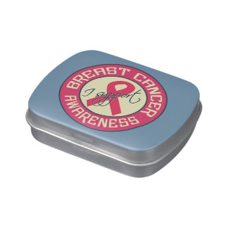 Breast Cancer Awareness tins & jars Jelly Belly Tin