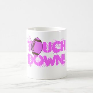 Breast Cancer Awareness TOUCH, DOWN! mug