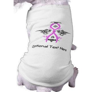 Breast Cancer Awareness Tribal Design T-Shirt