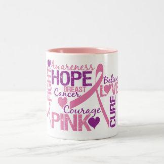 Breast Cancer Awareness Two-Tone Coffee Mug