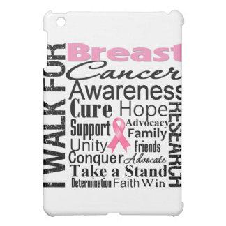Breast Cancer Awareness Walk iPad Mini Cover
