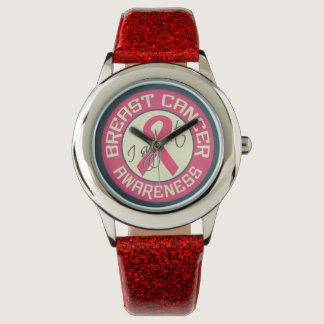 Breast Cancer Awareness watches