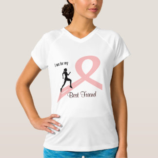 Breast Cancer Awareness Woman Runner Shirt