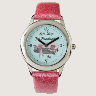 Breast Cancer Awareness Wristwatch