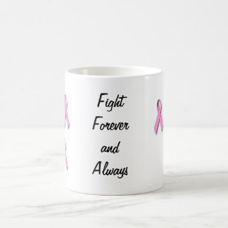 Breast cancer awarness appearal classic white coffee mug