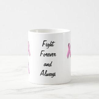 Breast cancer awarness appearal classic white coffee mug