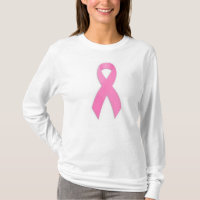 Breast Cancer Awarness Long Sleeved T-Shirt