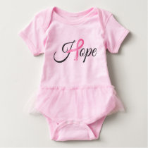 Breast Cancer Baby Bodysuit
