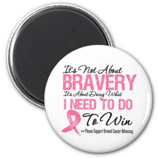 Breast Cancer Battle Refrigerator Magnet