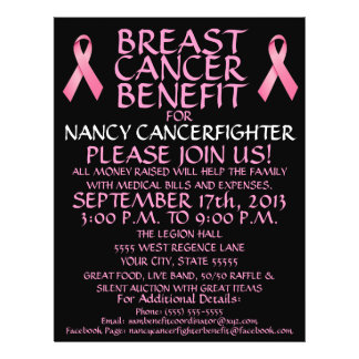 Breast Cancer Benefit Flyer