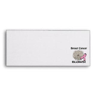 Breast Cancer Blows Awareness Design Envelope