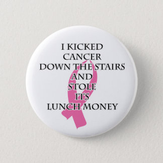 Breast Cancer Bully Pinback Button