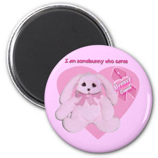 breast cancer bunnies magnets