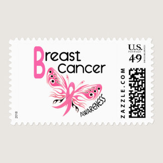 Breast Cancer BUTTERFLY 3.1 Postage