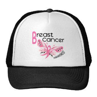 Breast Cancer BUTTERFLY 3.1 Trucker Hat