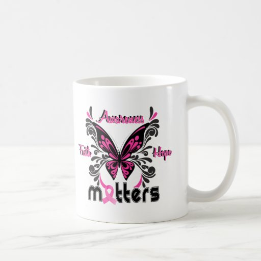 Breast Cancer Butterfly 7 Mugs