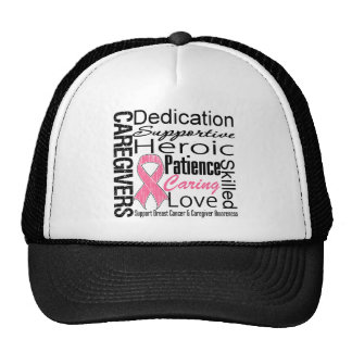 Breast Cancer Caregivers Collage Trucker Hat