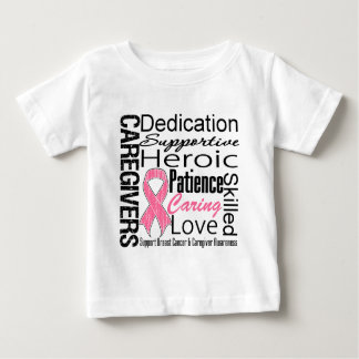 Breast Cancer Caregivers Collage T-shirts
