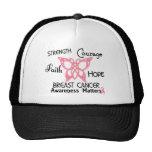 Breast Cancer Celtic Butterfly 3 Trucker Hat