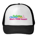 Breast Cancer Chemo Excuse Design Trucker Hat