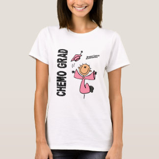 Breast Cancer CHEMO GRAD 1 T-Shirt