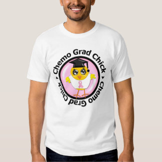 Breast Cancer Chemo Grad Chick T-Shirt