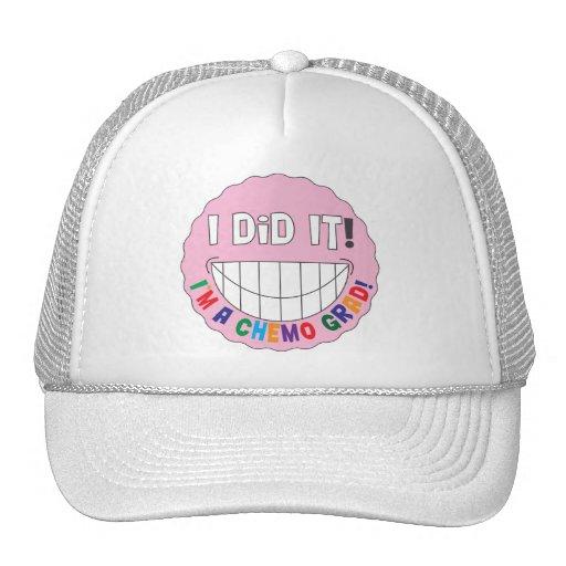 Breast Cancer Chemo Grad - I Did It Mesh Hats
