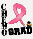 Breast Cancer Chemo Grad T-shirt
