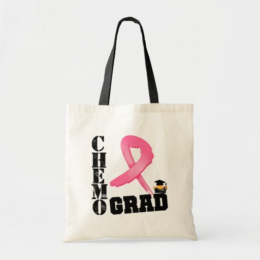 Breast Cancer Chemo Grad Tote Bag