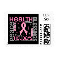 Breast Cancer Christmas Cards - Greeting & Photo Cards ...