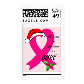 Breast Cancer Christmas Stamps
