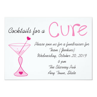 Breast Cancer/Cocktails for a Cure Invitation