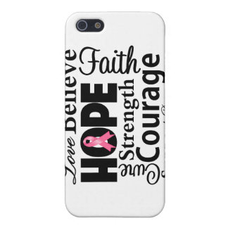 Breast Cancer Collage of Hope Cover For iPhone 5
