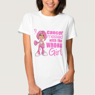 Breast Cancer Combat Girl 1 T-shirt