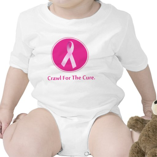 Breast Cancer Crawl for the cure Bodysuit
