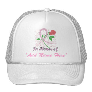 Breast Cancer Customizable Hat