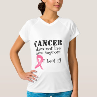 Breast Cancer Does Not Live Here Anymore T-Shirt