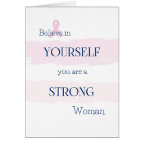 Breast Cancer Encouragement Card