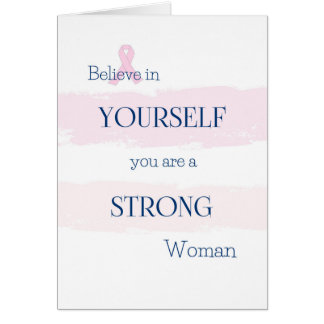 Breast Cancer Encouragement Card