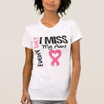 Breast Cancer Everyday I Miss My Aunt T Shirt