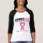 Breast Cancer-Everyday I Miss My Best Friend T-Shirt