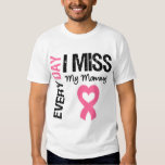 Breast Cancer Everyday I Miss My Mommy Tshirt