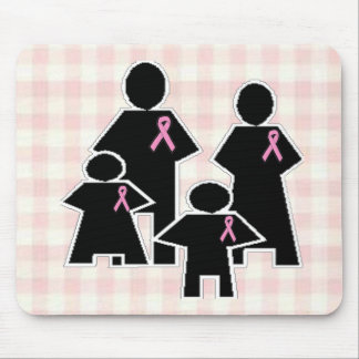 Breast Cancer Family Battle Mousepad