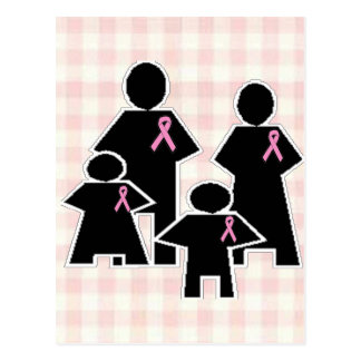 Breast Cancer Family Battle Post Cards