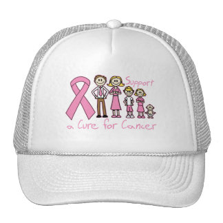 Breast Cancer Family Support A Cure Trucker Hat